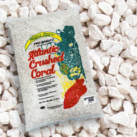Natures Ocean® Premium Atlantic Crushed Coral Sand with Aragonite #8