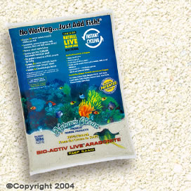 Natures Ocean® Bio Activ Live Aragonite Reef Sand Natural White#1